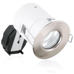 240V GU10 Aluminium IP65 Compact Fire Rated Downlight image
