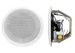 Professional 6 Watt flush-fitting loudspeaker for use either suspended, false and standard plaster ceilings.   Made from metal with a round shaped grill fitting a 195mm cut-out.  Fitted with a 100V line transformer which can be tapped at 6w, 4w, 2w and 0.5w as...