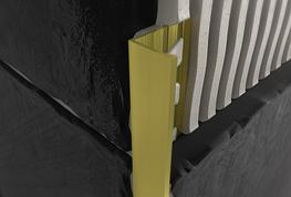 Straight Edge Profile   Brass image