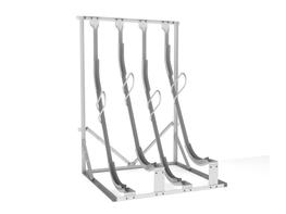 Our Semi Vertical Bike Rack is designed to maximise the use of space compared to traditional cycle parking methods. Made from galvanised steel and secured to the ground with bolts, this sturdy, easy to use product can be designed to store any amount of bikes a...