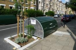 The clean lines and modern award winning design of the Bikehangar offers a secure solution for your long-term bike parking. Designed to store up to six bicycles, with a gas sprung door for easy access, the Bikehangar occupies only half of a parking space.  The...