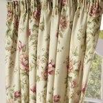 Classically elegant with timeless appeal, Capesbury is a beautiful vintage floral printed on a linen look ground, which adds a real touch of luxury and completes the antique feel.  Available in vintage rose colour only.  Pencil Tape heading....