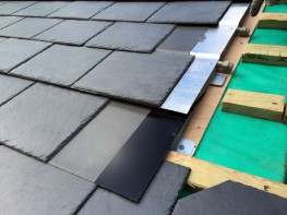 THERMOSLATE System with nail - Natural Slate Solar Thermal collector image