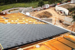 THERMOSLATE System with hook - Natural slate Solar Thermal collector image