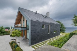 CUPACLAD 101 LOGIC - Natural Slate Rainscreen cladding image