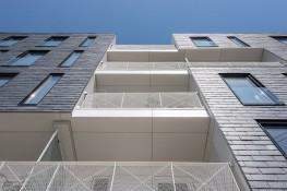 The CUPACLAD® 101 LOGIC system is part of the CUPACLAD® 101 series, made up of systems with invisible fixings that make our natural slate the main attraction of a facade.The 101 series also includes CUPACLAD® 101 RANDOM and CUPACLAD® 101 PARALLEL natural...