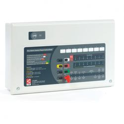 Can be used to repeat the functions of a master CFP standard or AlarmSense 2-8 zone fire panel at remote parts of site (e.g. all potential fire service entrances). Up to 8 repeaters per CFP master. Includes its own Mains power supply that requires its own stan...