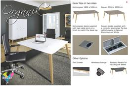Organik Executive Desking image