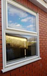 Protects vulnerable external elevations of glazing from vandal attack. ATB supply bespoke retro fit security screens to protect vulnerable external elevations of glazing from vandal attack.  With a stylish aluminium frame, security fixings and snap on cover, o...