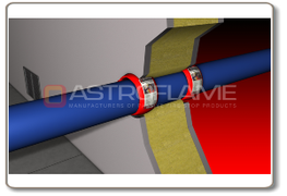 Astro X Series CE Pipe Wrap are designed and tested to seal service penetration apertures containing plastic and metallic pipes, pipes with insulation, using thermoplastic composites based on graphite ntumescent technology.  Developed to provide a high volume ...
