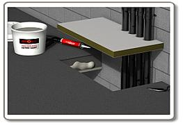 Astro Penetration Seal Coat is a thicker formulation, for brush application, to coat plain stone wool as it is being installed by the user: it can also be be applied to insulation already in place on the services, adding to the fire resistance of the seal.  It...