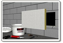 Specifically designed for sealing around service penetrations in walls and floors, a single Astroflame board (50mm or 60mm thick) can provide high levels of fire integrity and insulation.Tested in Block Wall, Concrete, Masonry, Plasterboard Partition, Composite Panel and Durasteel Wall. Tested in Concrete Floors.  Offering up to 4 hours fire resistance in accordance with BS4746: Part 20: 1987. Up to Rw 48dB sound reduction achieved by using two boards.  Astroflame Boards consist of a stone fibre core coated on both sides with Astro Coat which transforms during a fire to prevent the passage of fire and smoke and the transfer of heat.  Unaffected by oil, fungus, moisture, vermin, weather and contains no halogens or asbestos.  ASTRO BATT cut edges or joints should be coated with ASTRO COAT.  If your installation is subject to regular structural movements we stock a flexible fire rated batt and a flexible sealant coating designed to accommodate compression and elongation forces.