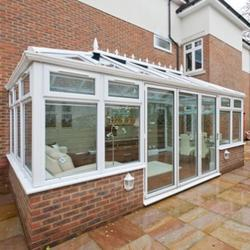 Edwardian conservatory The Edwardian conservatory is probably the most popular as its versatility makes it suitable for most house styles. It has a flat-fronted style that offers excellent use of floor space due to the square or rectangular internal shape. Eac...