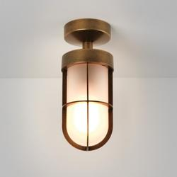 Cabin Frosted Semi Flush   7854 image