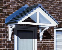 Cheltenham Overdoor Canopy at APC Architectural Mouldings image