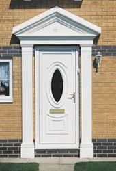 Our standard Victorian style Door surround will transform any doorway.  Beautifully moulded from rigid GRP, and incorporating a rose design centre piece in the overdoor canopy, this maintenance free door surround will give years of service. Fast, easy installa...