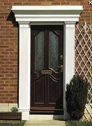 A beautiful surround, the Georgian features are sharp and clear cut. Pillars available at 2100 high and 2300 high. The top lintel can also be stretched to a max 3000 mm size. Alternatively, this surround comes in custom sizes. These attractive pillars and cano...