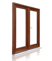 Prestige Hardwood Double Doors image