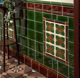 Victorian Wall Tiles image