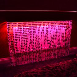 Sequined radiator covers - Couture Cases Ltd