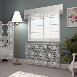 Our Lace Radiator covers are most decorative and intricate of all our radiator covers. Manufactured in laser cut metal, not only are they wonderful to look at, but they also have amazing heat transfer performance. Available in a range of styles based on tradi...