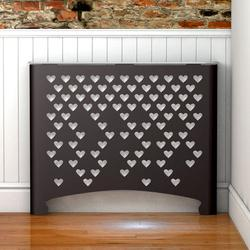 Our Black radiator covers are available in all shapes, sizes, finishes and textures to suit all interiors. We have created black radiator covers in all our ranges, where satin black along with satin white is the standard  colour.  Manufactured in laser cut me...