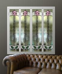Decorative Glass and Mirror Window Shutters image