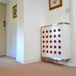 White radiator covers - Couture Cases Ltd