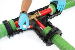 Hiline Flex Pre Insulated Pex Pipe System By Cpv Ltd