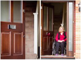 Wheel Chair Access Door image