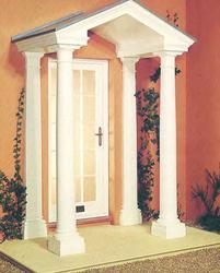 The Richmond comes complete with pediment and ceiling with detachable grey roof with lead roll features, two Doric style columns with matching wall pilasters and will accommodate entrances from 914mm to 1030mm wide. It is supplied in standard overall width of ...