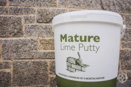 Lime Putty - High calcium lime putty, guaranteed to have been matured for a minimum of four months image