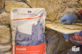 Cornerstone Drymix - Multi-purpose Lime Mortar & Render for Pointing, Rendering and general building work image