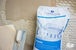 Cornerstone Promix - Professional grade, multipurpose lime mortars and renders for Pointing and Render applications image