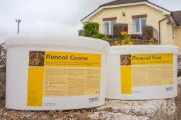 Beeck Renosil Exterior Mineral Paint - Highly Vapour Permeable and Durable Mineral Paint for use over Mineral Substrates and Existing Paint Coatings image