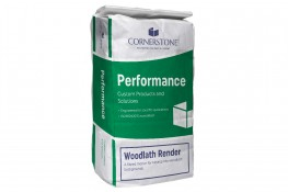 Cornerstone Wood Lath Render - Quick Setting Base Coat for Application on Wooden Laths image