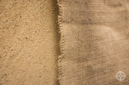 Hessian - Hessian fabric for curing and aftercare of mortar, render & concrete image