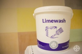 Limewash - Pure unadulterated limewash, made from mature lime putty, available in 24 colours image
