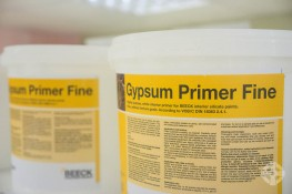 Beeck Gypsum Primer - An internal primer for gypsum based materials to be used before the application of Beeck Mineral Paints image