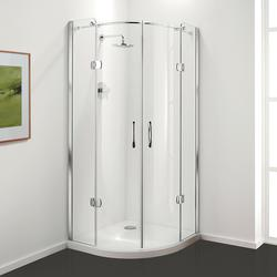 Premier Frameless Hinged Door Quadrant & Offset Quadrant image