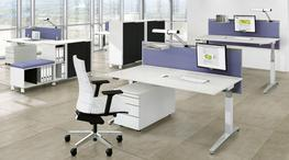 Viteco Partitioning system - ASSMANN Systems Furniture