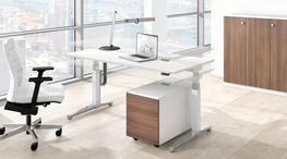 Canvaro stand-up/sit-down desks image