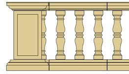 Style 24 - Balustrade image