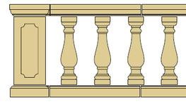 Style 18 - Balustrade image