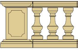 Style 13 - Balustrade image