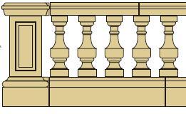 Style 7 - Balustrade image
