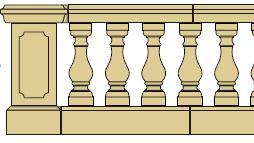 Style 6 - Balustrade image