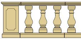 Style 5 - Balustrade image