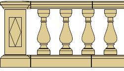 Style 3 - Balustrade image