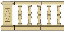 Style 2 - Balustrade image
